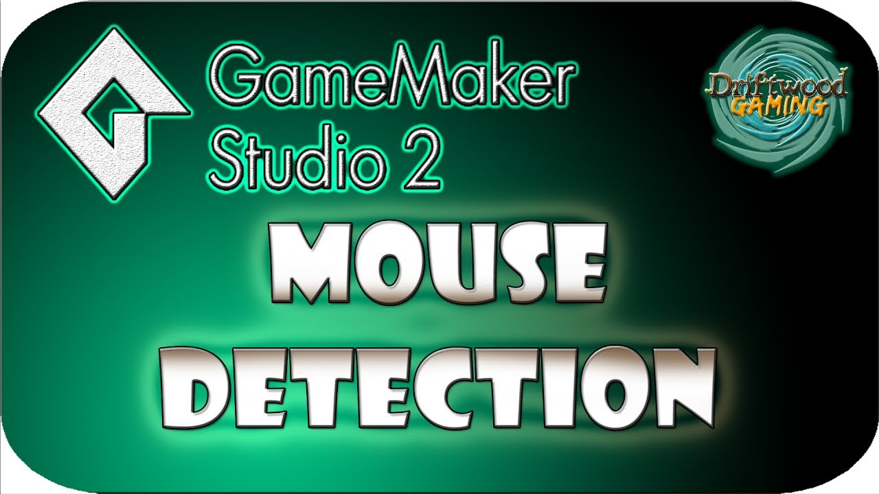 GMS2 Tutorial – Mouse Detection – Using the mouse to trigger events – GameMaker Studio 2 Tutorials