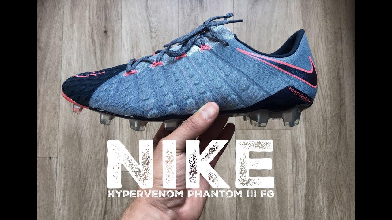 38a0ded98488 Nike Hypervenom Phantom III FG 'rising fast pack' | UNBOXING & ON FEET |  football boots | 2017 | HD