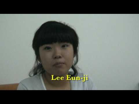 Lee Eun-ji Interview