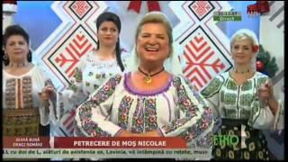 Eugenia Moise Niculae - Sarba comandata (Seara buna, dragi romani! - ETNO TV - 07.12.2015)