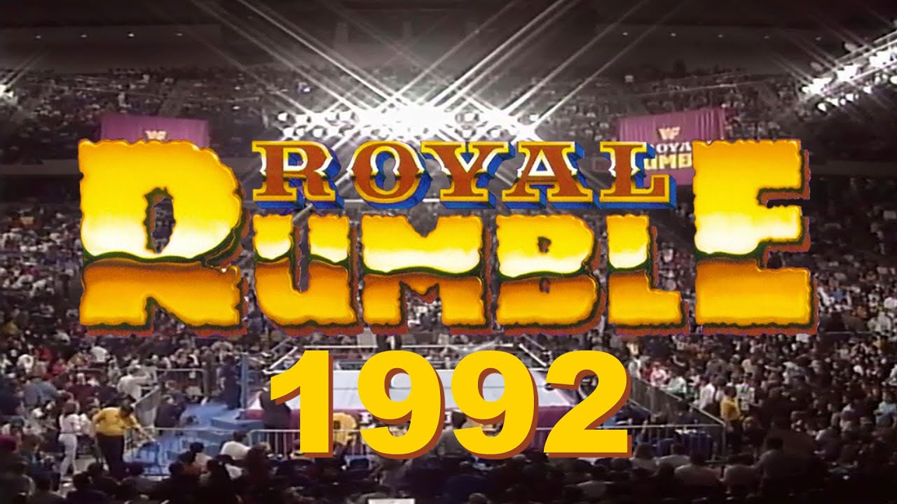 Wwe Royal Rumble 1992 Match Commentary Track Smark