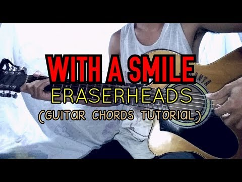 WITH A SMILE - Eraserheads (Easy Guitar Tutorial) - YouTube