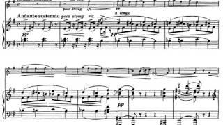 Josef Suk, Four Pieces, op. 17 - I. Quasi ballata (1900)