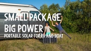 Cheap and Easy Portable Solar Power for RV and Boat