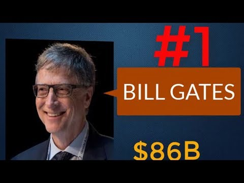 TOP 10 RICHEST MAN IN THE WORLD 2018