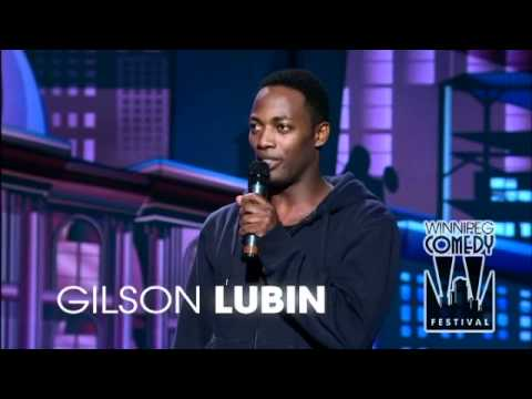 Gilson Lubin at the CBC Winnipeg Comedy Festival 2