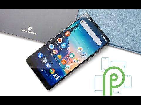 Android P на Xiaomi Mi Mix 2S