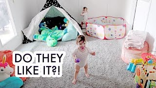 Baby Playroom Reveal + Funny Baby Faces! /// McHusbands