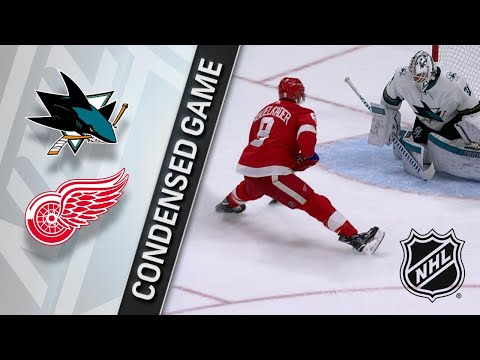 01/31/18 Condensed Game: Sharks @ Red Wings