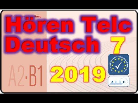 Modelltest A2 B1 Hören 03 2018