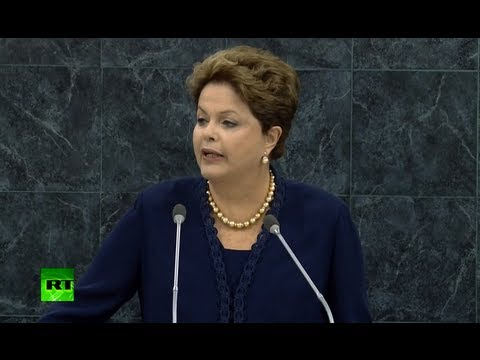 'US surveillance an affront' - Brazil's Rousseff to UN Assembly 2013 (FULL SPEECH)