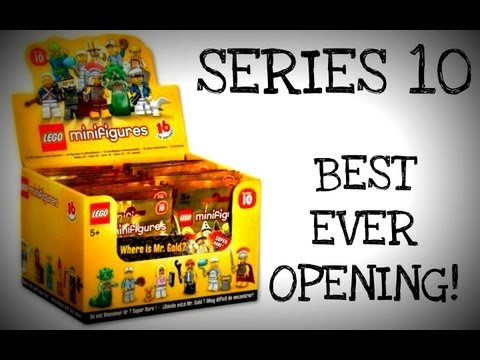 LEGO Series 10 Minifigures Opening - JakeUnscripted EPISODE 17 MR GOLD!!