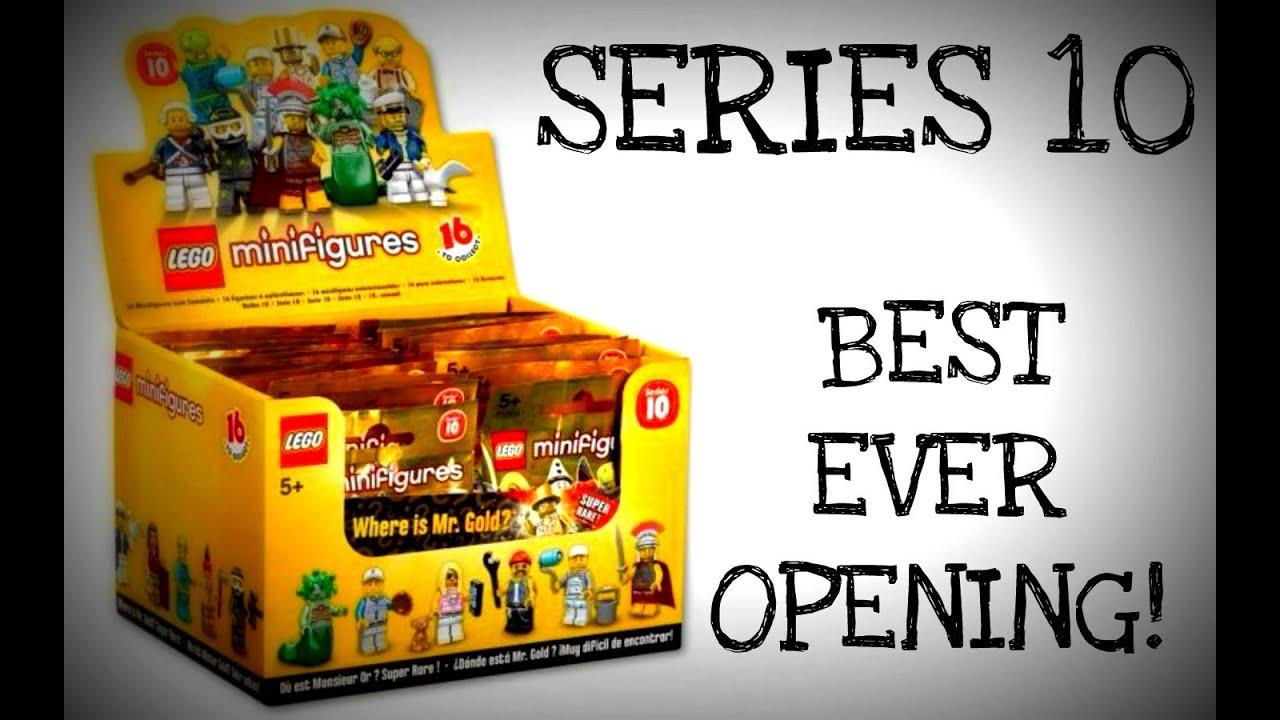Lego Series 10 Minifiguras hoja de instrucciones Folleto Volante Lista de verificación