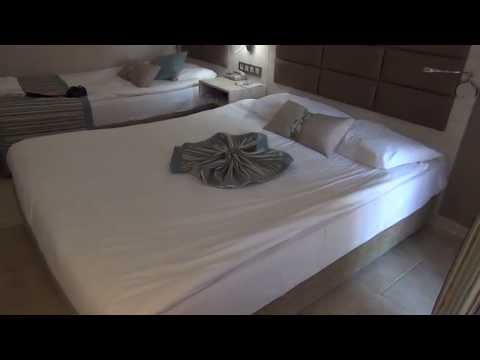 Номер в отеле CLUB INSULA, Аланья, Турция. Room Tour. Hotel room CLUB INSULA, Alanya, Turkey