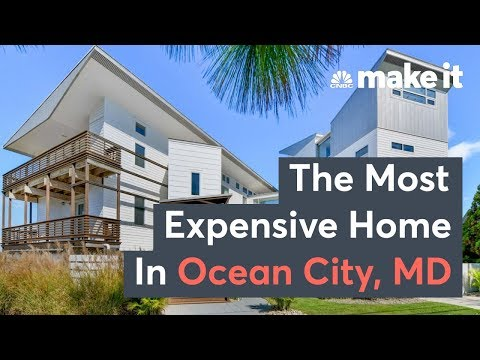 Inside The Most Expensive Home In Ocean City, Maryland