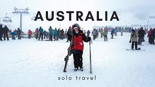 Australia solo travel + skiing in Canberra