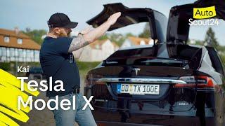 Tesla Model X: Nur mit Strom - 50.000 km in 9 Monaten?