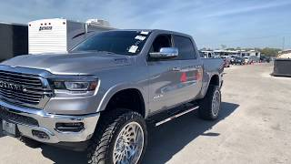 2019 Ram 1500 lifted 8 inches on 24x12 wheels and 37 's