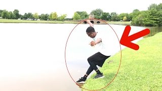 EXERCISE VLOG (I almost fell in a pond) ????