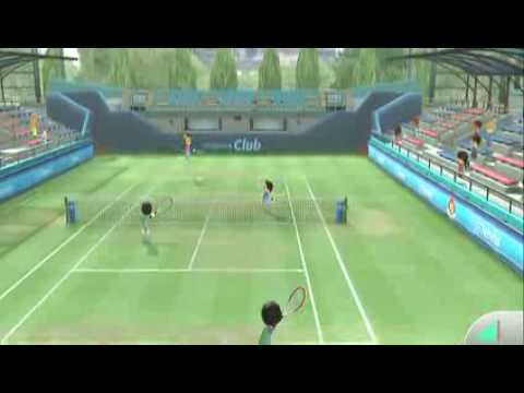 Tennis Online Play - Wii Sports Club - Wii U