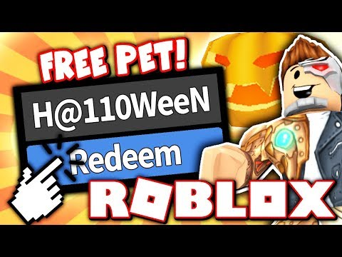 FREE CODE FOR SECRET HALLOWEEN PUMPKIN PET!! (Roblox Murder Mystery 2!)
