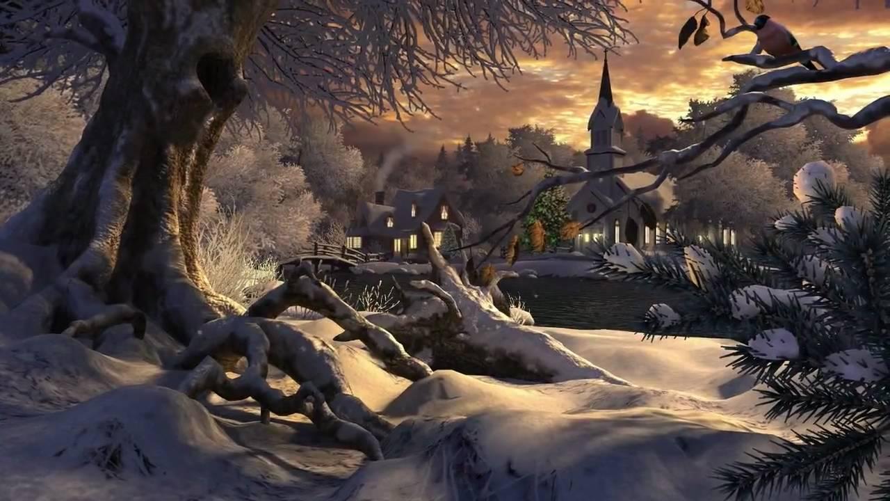 Winter Wonderland 3D Screensaver - YouTube