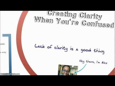 Thinking Creative, Problem Solving Techniques, and Creating Clarity