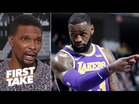 'We're in uncharted territories' if LeBron James misses playoffs - Chris Bosh | First Take