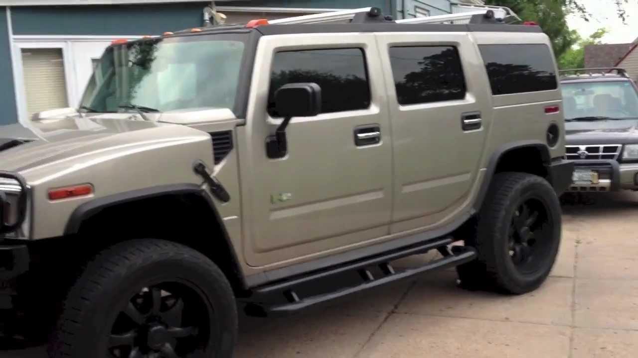 Using Plasti dip on Hummer H2 wheels - YouTube