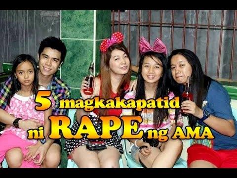 Limang magkakapatid GINAHASA ng kanilang Ama!!