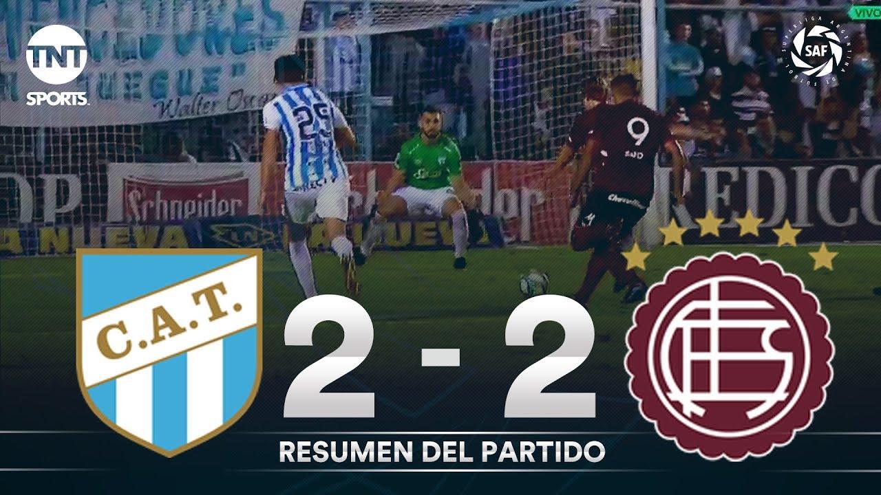 Resumen de Atlético Tucumán vs Lanús (2-2) | Fecha 21 - Superliga Argentina 2019/2020