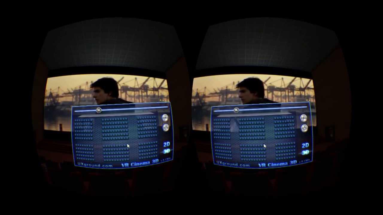 VR Cinema 3D for Oculus rift - YouTube
