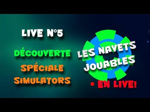 Live n°5 - Spéciale simulators