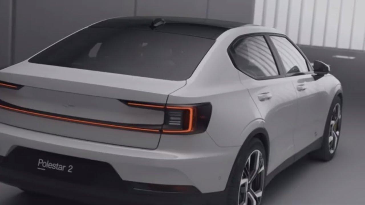 2020 Polestar 2 Ev New All Electric Model From Volvo