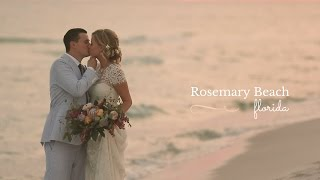 Heartfelt Rosemary Beach Wedding Video