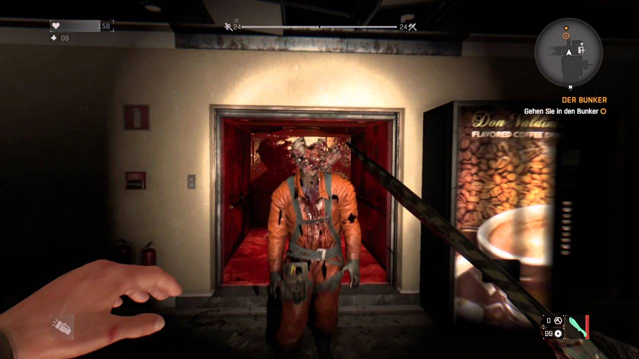 Dying Light: Clicker Mod The Last Of Us Easter Egg