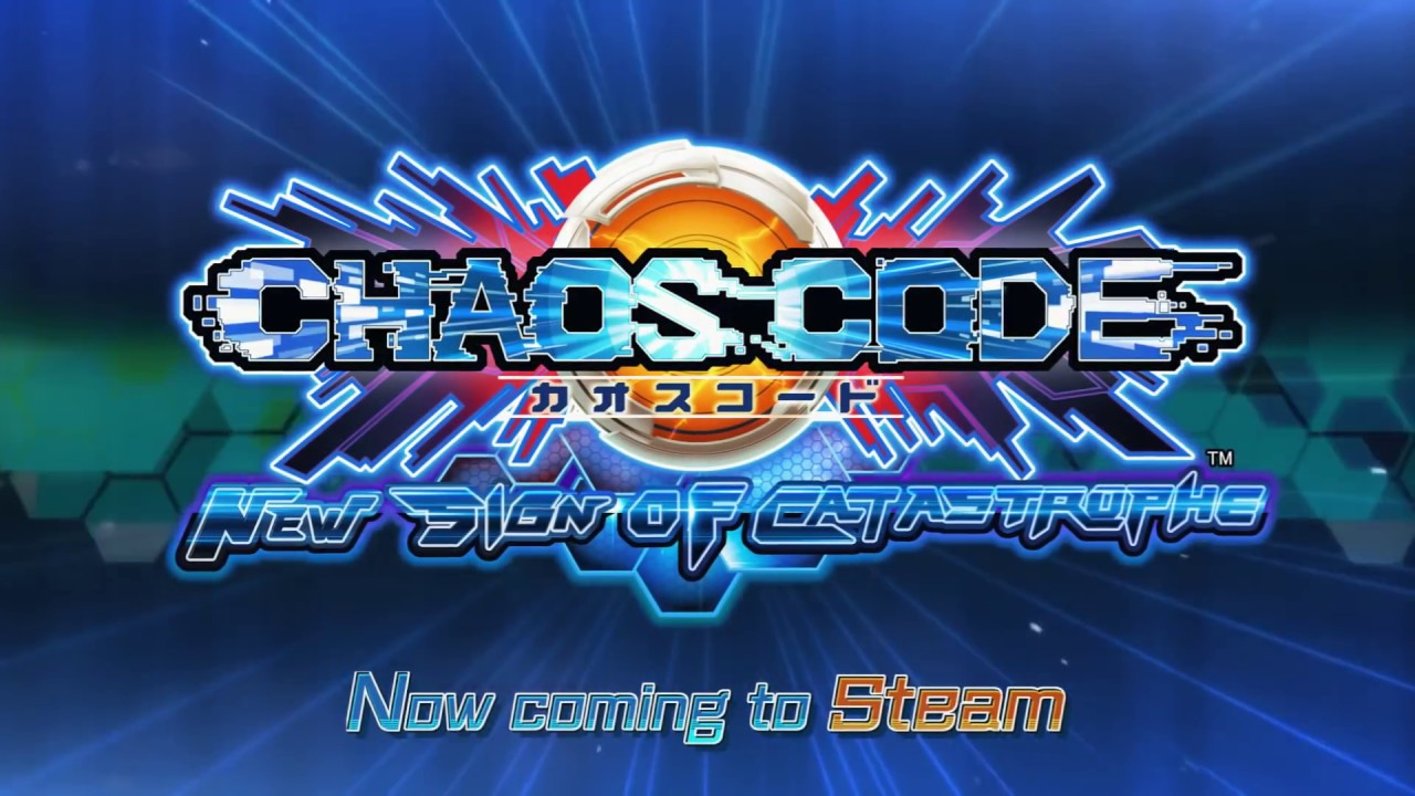 CHAOS CODE -NEW SIGN OF CATASTROPHE- Now on Steam!!!