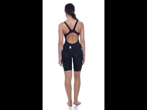 dddc0849bca Arena Women's Powerskin Carbon Duo Top Tech Suit Swimsuit | SwimOutlet.com