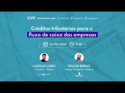 Live - Créditos tributários para o fluxo de caixa das empresas