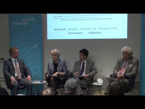 Governing with no majority – how would a minority government work at Westminster?