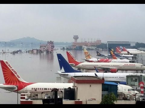 Flood in Bangalore International Airport | Kempegowda Airport Got Flood
