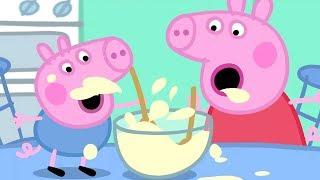 Peppa Pig in Hindi - Lunch - Dopahar ka Khaana - Clips - हिंदी Kahaniya - Hindi Cartoons for Kids