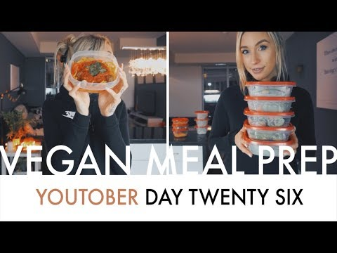 VEGAN MEAL PREP | Dinner + Lunch