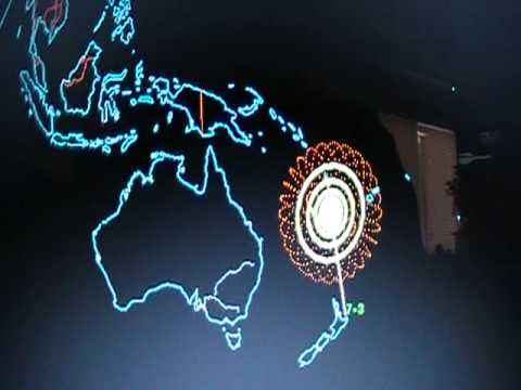 7.3 Earthquake (Loyalty Islands) 13 January 2011