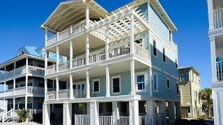 Grayton Beach Florida 5br Gulf View Vacation Rental Home, 270 Garfield Street