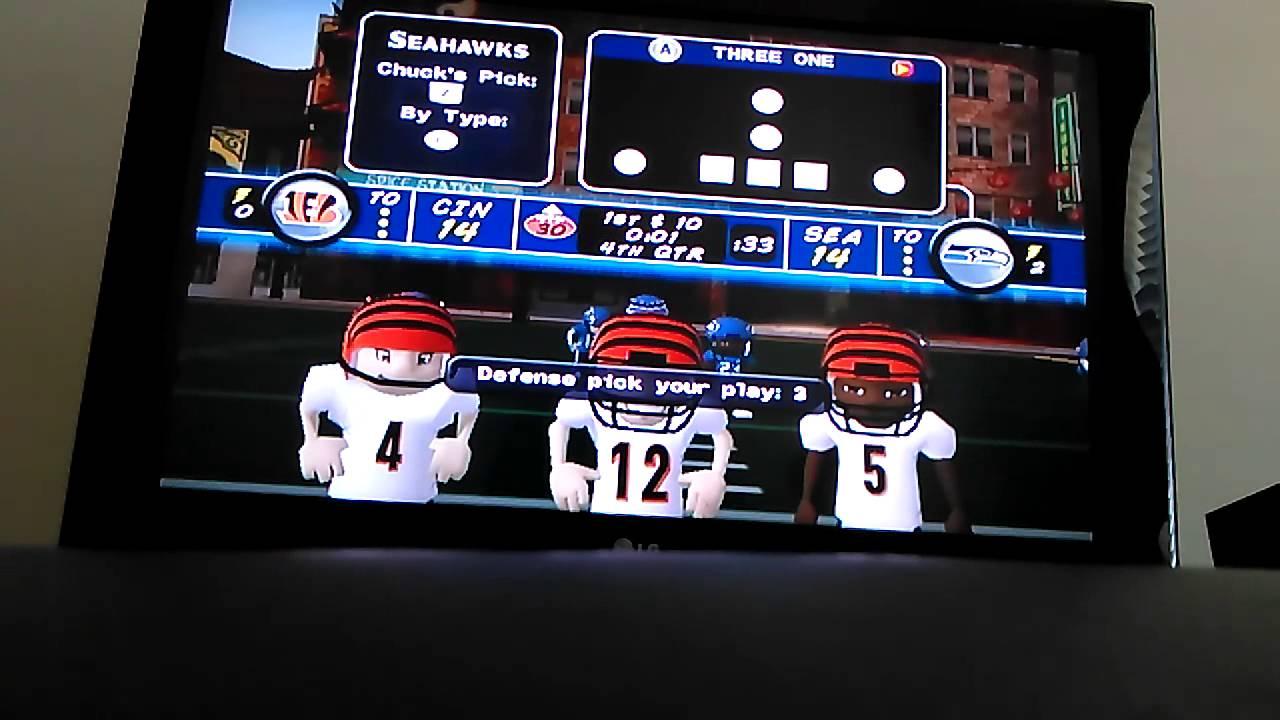 Backyard Football 2009 Best Game Winner Ever!!! - YouTube