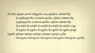 Kunguma Poove Konjum Tamil Karaoke Tamil Lyrics   YouTube