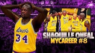 NBA 2k15 MyCareer | Shaquille O'Neal #8 | Kobe Tears Achilles AGAIN!