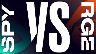 SPY vs. RGE - Playoffs Round 1 Game 1   LEC Summer   Splyce vs. Rogue (2019)