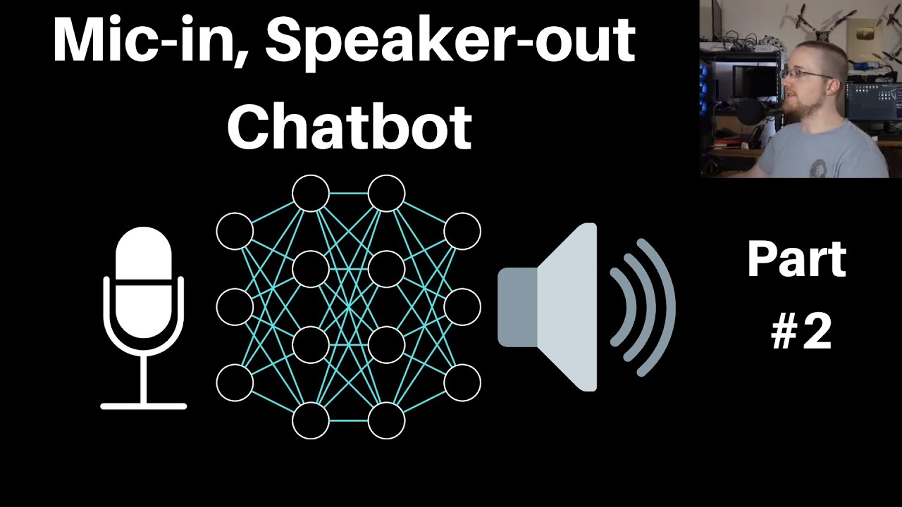 Chatbot with Mic input/Speaker output using Python, Jarvis, and DialoGPT P.2